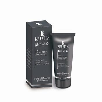 Brutia Exfoliating pre-shave cleasing gel
