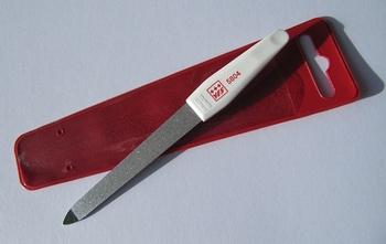 Saphir vijl  / klein  +/- 12,5 cm