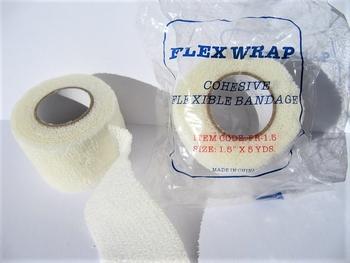 Flex wrap /  Vinger bescherm tape Op=Op Aktie