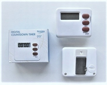 Digitale timer ( max 99 min.)
