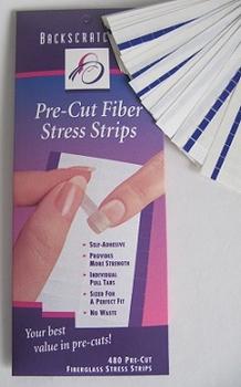 Fiberglass Pre-cut stress strips 480 stuks