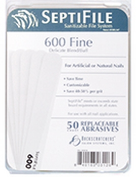 Septifile 600 grit  50 st.