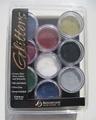 Glitter poeders set 9 kleuren Op=Op Aktie 3,00 incl. btw